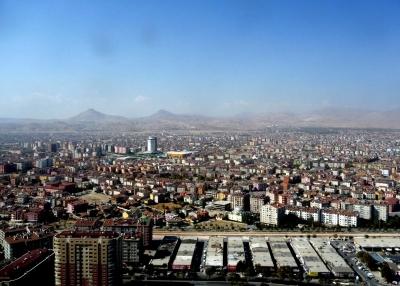 Blick über Konya