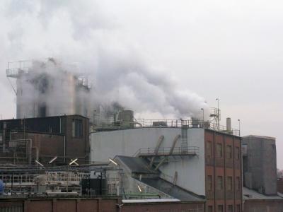Industrieanlage bei Hamburg