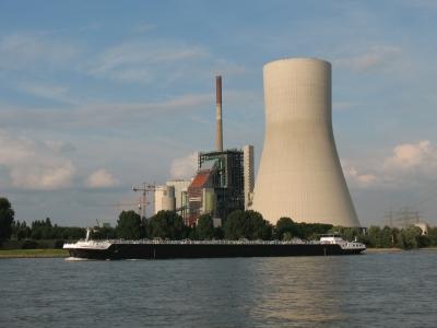 Kohlekraftwerk bei Duisburg