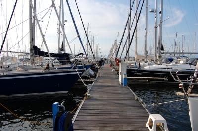 Yachthafen in Flevoland (Holland)