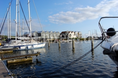 Yachthafen in Flevoland (Holland) #4