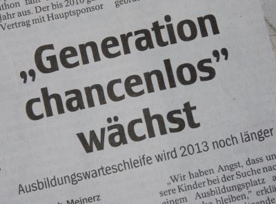 Generation chancenlos