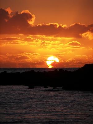 Australischer Sonnenaufgang