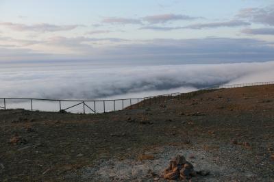 Nordkap_Über den Wolken