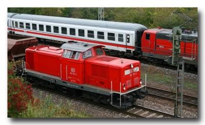 Diesellok 212 317