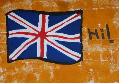 Landesgruß: England