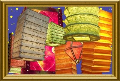 kostenloses foto asiatische lampions. Black Bedroom Furniture Sets. Home Design Ideas