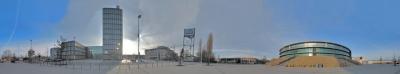 Berliner Platz  in Oldenburg -  360° Panoramablick