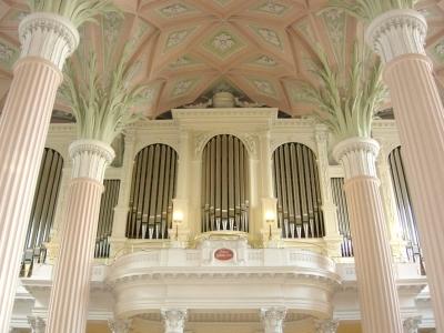 Leipzig - Nikolaikirche - Orgel von Friedrich Ladegast