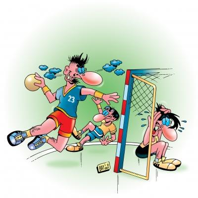 Sport ist Mord: Handball