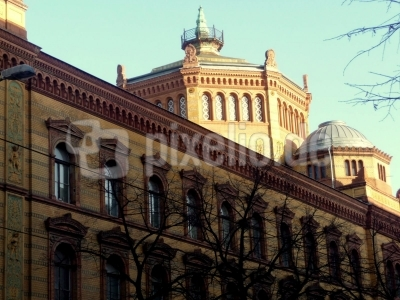 Altes Postfuhramt in der Oranienburger Straße