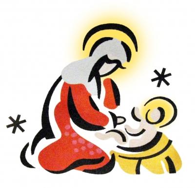 Heilige Familie - Maria mit dem Jesuskind