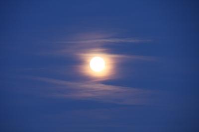 Mond bei Tag