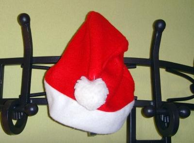 Pssst...der Weihnachtsmann ist zu Besuch!
