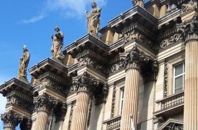 Fassade in Edinburgh