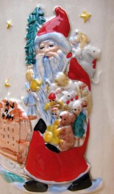 Weihnachtsmann - Glühweintasse