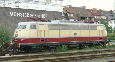 Baureihe 103 - die Erste