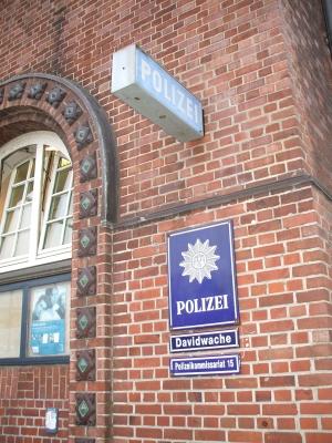 Davidwache in Hamburg