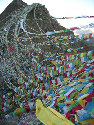 Tibet - Gebetsfahnen