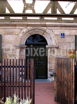 Eingang in das Alte Spital