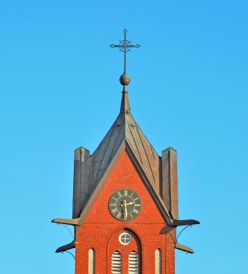 Inselkirchturm von Langeoog.....