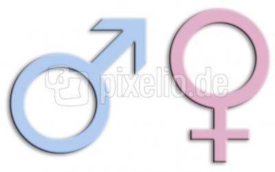 Zeichen für Männlich & Weiblich