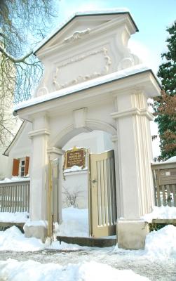 Ehrenpforte Schillerhaus in Leipzig-Gohlis