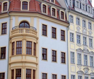 Dresden, Fassaden am Neumarkt