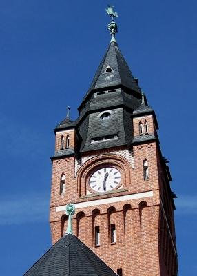 Köpenick, Rathausturm (Detail)
