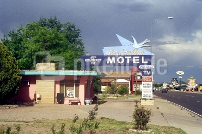 Blue Swallow Motel an der Route 66