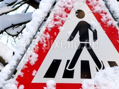 Vorsicht Schnee und Eis