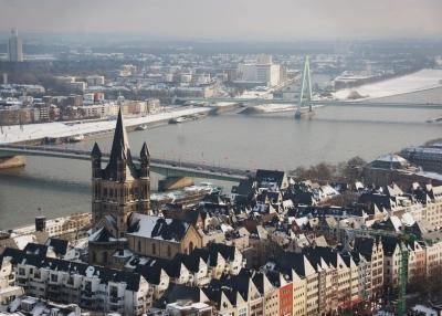 Köln im Winter