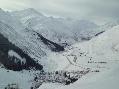 Tal im Glacierexpress