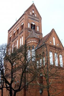 Berlin, Rosenkranz-Basilika (Gegenseite)