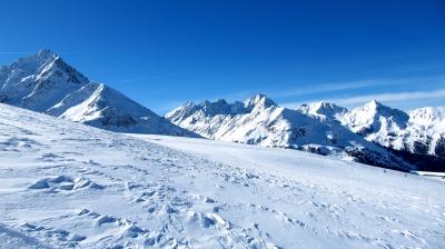 Alpen-Gipfelkette 2