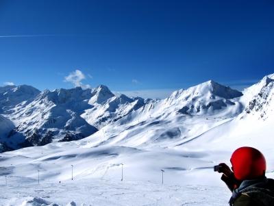 Bilderbuch-Panorama im Winter
