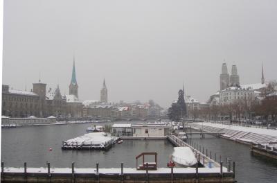 Winter in Zürich