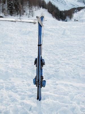 Skisport - Stillleben