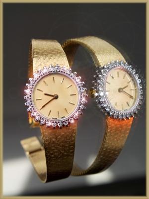 Frauenträume - Brilliant Uhr