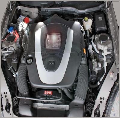 Versteckte Power  -  V6 Motor