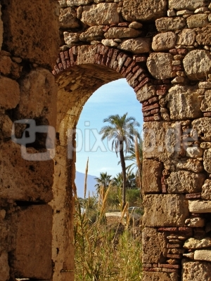 Alter Torbogen in Antalya