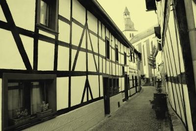 Kirchgasse in Heimbach / Eifel