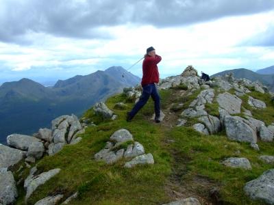 Crossgolf in Schottland