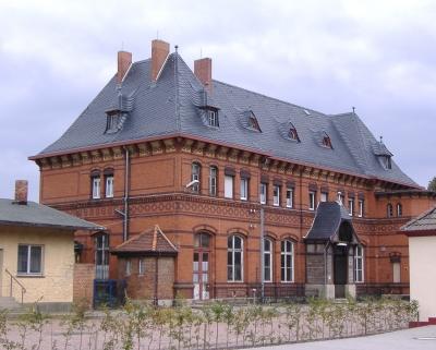 Großer Bahnhof