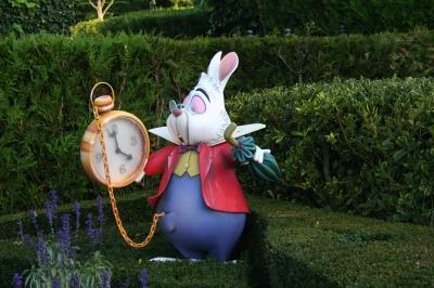 Kaninchen aus Alice im Wunderland