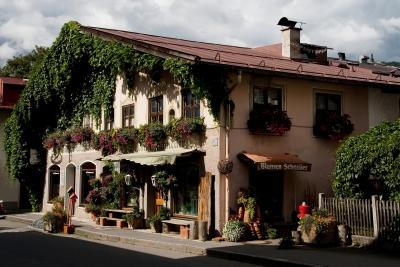 Blumenhaus in Oberammergau