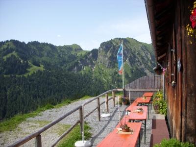 Berghütte im Allgäu