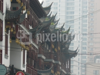 Dächer Shanghai