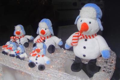 Schneemännchen zum Kuscheln