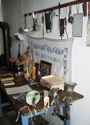 Großmutters Küchengeräte